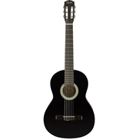 Fender Squier SA-150N Classical Guitar, Black