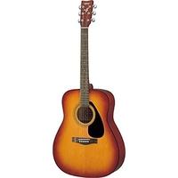 ياماها  F310P جيتار موسيقي مع مجموعة ملحقات حزمة واحدة , لون بني توباكو
