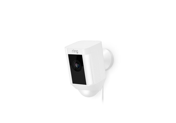 Ring Smart Spotlight Camera Wired, White