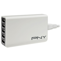 PNY P-AC-5UF-WUK01-RB - 5-Port Multi USB Charger