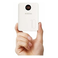 Romoss Compact Power Bank 10000mAh With Micro/C/Lightning Port