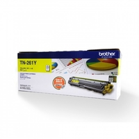 Brother TN-261Y Toner Cartridge, Yellow