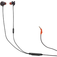 JBL Quantum 50 Wired in-ear gaming headset with volume slider and mic mute, Black