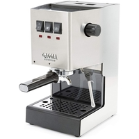 Gaggia Classic Pro Manual Espresso Pump Machine Professional Group Head, Filter Holder and Steam Wand