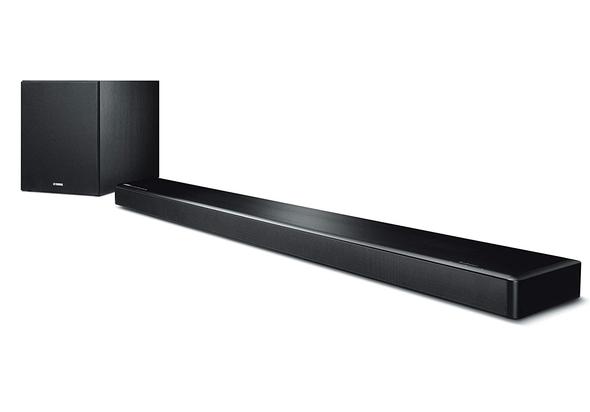Yamaha MusicCast YSP-2700 107W 7.1-Channel Soundbar System, Black
