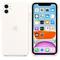 Apple iPhone 11 Silicone Case, White