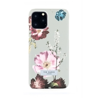 Ted Baker Hard Shell Back Case for iPhone 11 Pro, Forest Fruits Grey