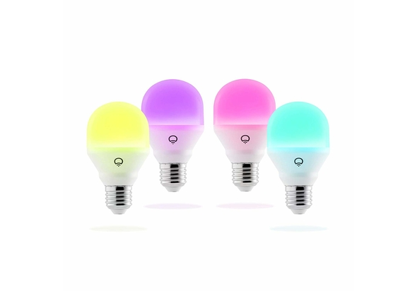 Lifx Mini Colour A19 LED Smart Light Living Pack Edison Screw E27 (4 Pack)