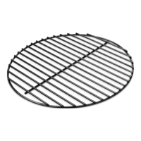 Weber Charcoal Grate Built for 47cm Charcoal Grills