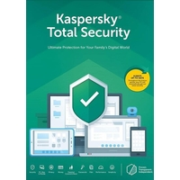 Kaspersky KTS3PC Total Security 3+ 1 User