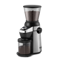 Gaggia Grinder MD15 15 Grind Settings Large 300g Bean Holder Capacity Stainless Steel Body 15 Grind Settings
