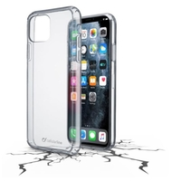 Cellularline CLEARDUOIPHXIMAXT Hard Case for iPhone 11Pro Max, Clear