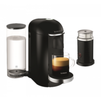 Nespresso Vertuo Plus Coffee Machine, Black