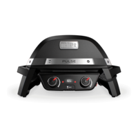 Weber Pulse 2000 Electric Grill, Black