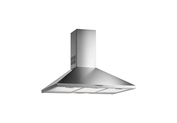Teka Wall mounted Pyramid Hood 90cm DBB 90, Stainless Steel, 3 speeds