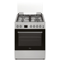 Terim TERGE66ST Combination Cooker, Silver/Black