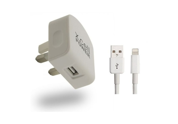 Xcell HCMF1 Home Charger 2.1A With Lighting Cable