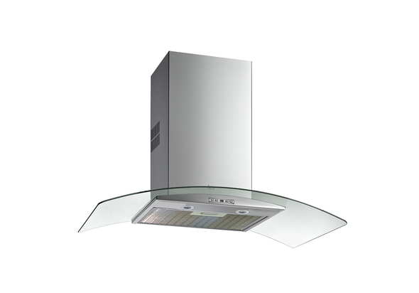 Teka 60 cm Wall-mounted range Hood NC 680, 4 Speeds, Stainless steel with Glass Wing