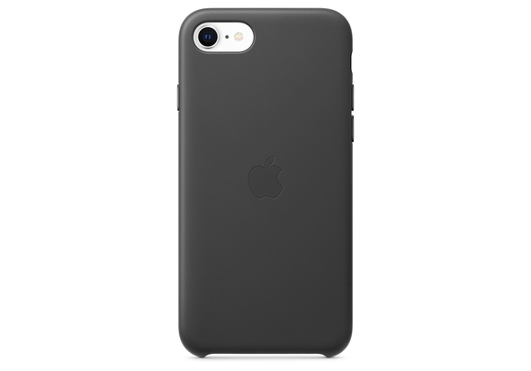 Apple iPhone SE Leather Case,  Black