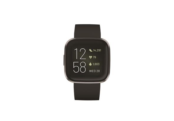 Fitbit Versa 2 Fitness Smartwatch,  Petal/Copper