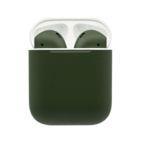 Customized Apple Airpods 2nd Gen by Switch, Matte,  Army Green