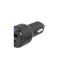 Scosche USB Dual Port Car Charger Black