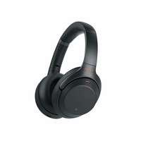 Sony WH1000XM3 Wireless Noise Canceling Over Ear Headphones, Black