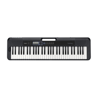 Casio CTS-300 Keyboard with ADE95100 Adaptor