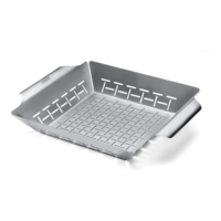 Weber Deluxe Grilling Basket Built for Q 300/3000 and Larger Gas Grills