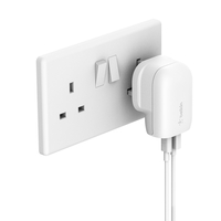 Belkin BOOST CHARGE USB-C+ USB-A Wall Charger 30W