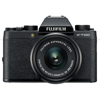 Fujifilm X-T100 Mirrorless Digital Camera with 15-45mm Lens,  Black