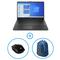 HP 15s-fq1019ne i3 4GB RAM, 256GB SSD, Intel UHD Graphics, Windows 10 Home, Black