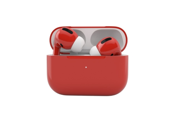 Merlin Craft Apple Airpods Pro, Red Glossy