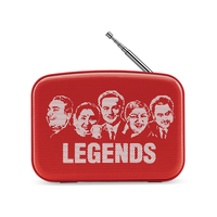 Saregama Carvaan Mini Legends Music Player,  Sunset Red