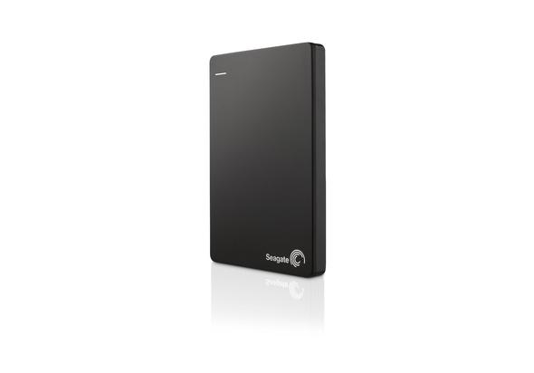 Seagate Backup Plus Slim 2TB USB 3.0 Portable 2.5 Inch External Hard Drive, Black,  Black