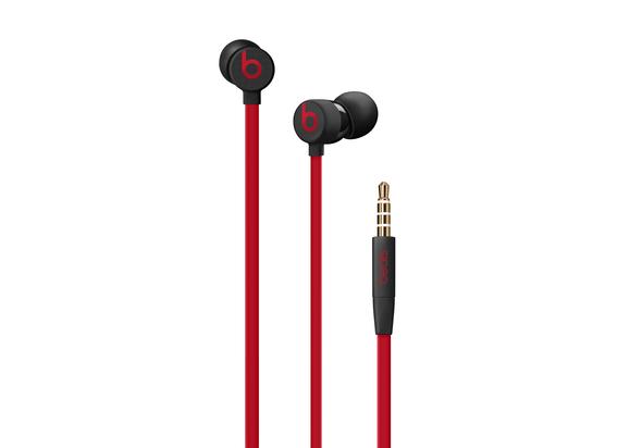 Beats urBeats3 In Ear Earphones, Black/Red