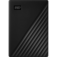 WD 2TB My Passport USB 3.2 Gen 1 External Hard Drive 2019, Black
