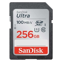 SanDisk 256GB Ultra SDXC UHS-I Memory Card