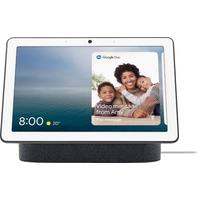 """Nest Hub Max 10"""" Smart Display with Google Assistant - Charcoal"""