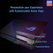 Asus ROG Strix SCAR 17, Ryzen 9-5900HX, 32GB RAM, 2TB SSD, Nvidia GeForce RTX 3080 16GB Graphics, 17.3  FHD 300Hz Gaming Laptop, Black
