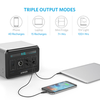 Anker A1701211 Multi-Function PowerHouse Charger, Silver