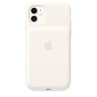 Apple iPhone 11 Smart Battery Case,  Soft White