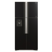 Hitachi RW760PUK7GBK 760L French Door Refregerator, Black