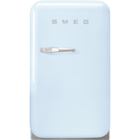 Smeg FAB5RPB3GA Single Door Refrigerator 38 L, Pastel Blue