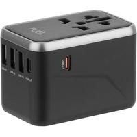 Case Mate Fuel World Travel Adapter-Black