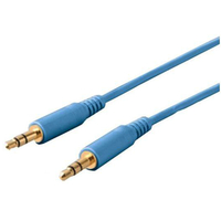 Buffalo Auxiliary Cable 1.2m, Blue
