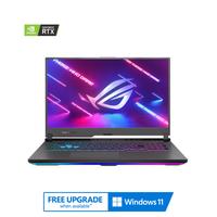 "Asus ROG Strix G17, Ryzen 7-4800H, 16GB RAM, 1TB SSD, Nvidia GeForce RTX 3050Ti 4GB Graphics, 17.3"" FHD 144Hz Gaming Laptop, Gray"