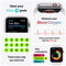 Apple Watch Series 6 GPS+ Cellular, 44mm Graphite Stainless Steel Case with Graphite Milanese Loop