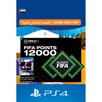 Sony 12000 FIFA 21 Points Pack