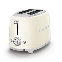Smeg TSF01CRUK 2 Slice Toaster, Cream